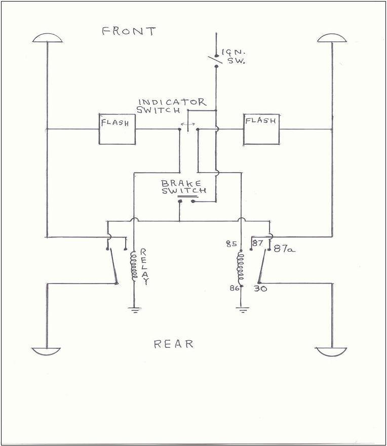 modern flasher circuits rh da7c co uk wiring diagram for indicators on cars wiring diagram for indicators on cars
