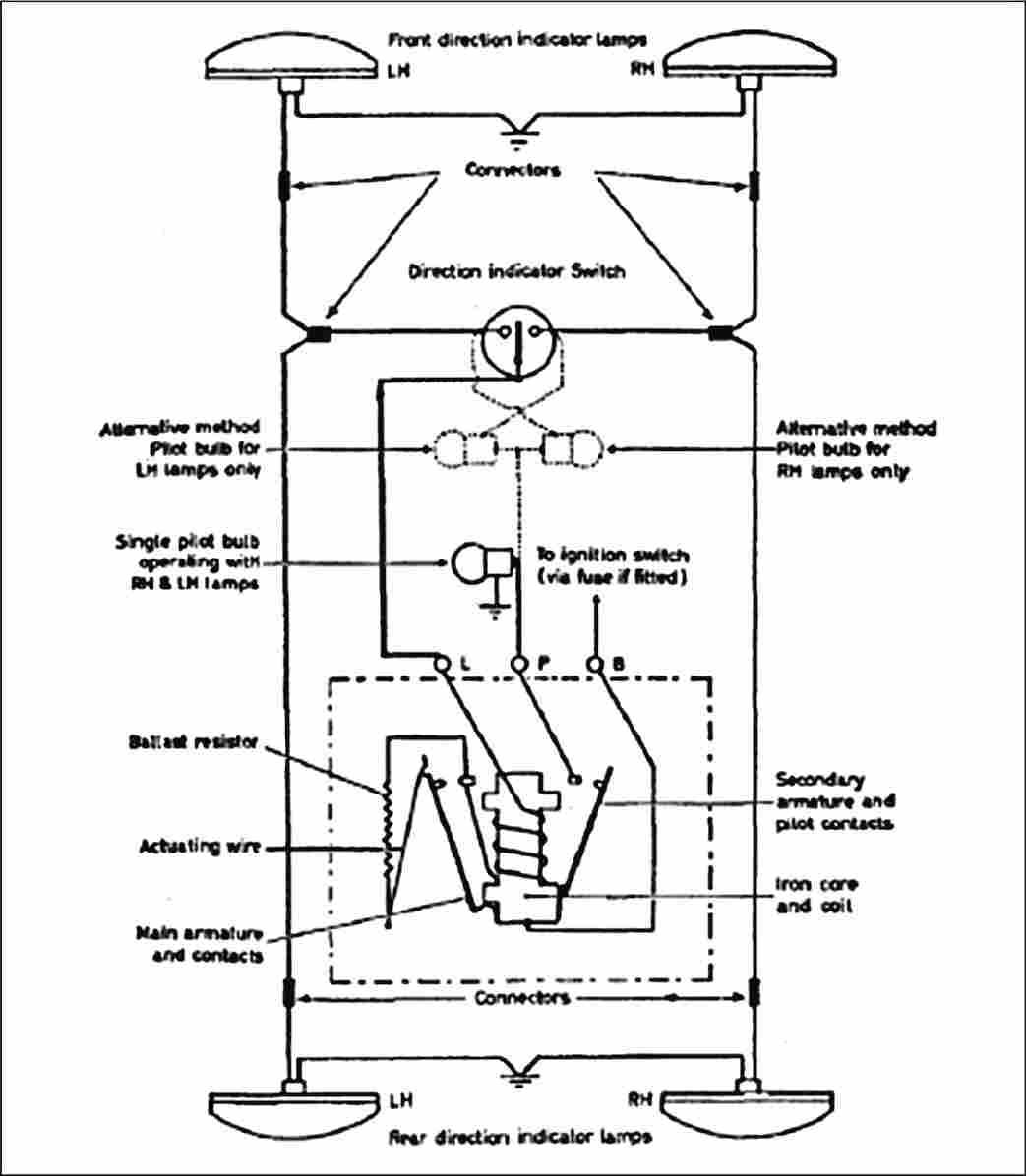 standard_flasher_diagram modern flasher circuits flasher unit wiring diagram at edmiracle.co